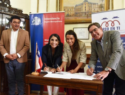 Fundación Creo en Ti Nicolás Fossatti firma importante convenio con la Asociación de Municipalidades rurales de la Región Metropolitana (AMUR)