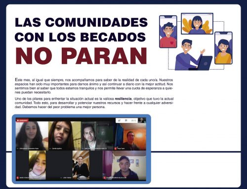 Las comunidades con los becados no paran