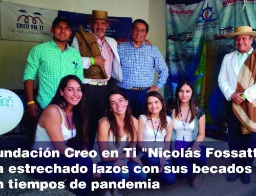 Fundación Creo en Ti «Nicolás Fossatti» ha estrechado lazos con sus becados en tiempos de pandemia